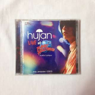 HUJAN CD ALBUM LIVE AT PLANET HOLLYWOOD