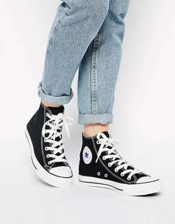 Converse Chuck Taylor All Star High Cut Black Trainers