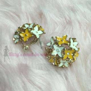 NY&Co. Floral Earrings
