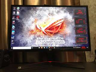 LG 24MP59G Gaming Monitor IPS 24""