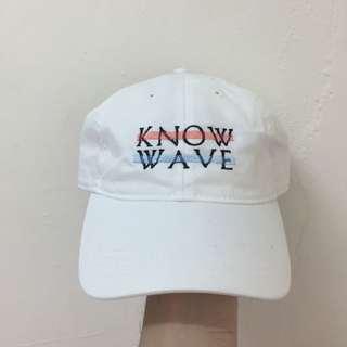 know wave 白色 帽子 老帽 全新 可調式 (supreme Noah palace