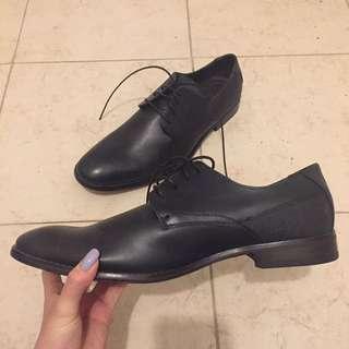 New Men's Black Dress Shoes