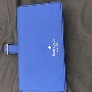 Kate spade wallet with cellphone holder. Like new