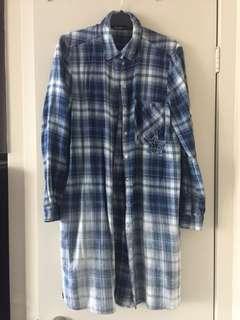 Zara flannel dress shirt