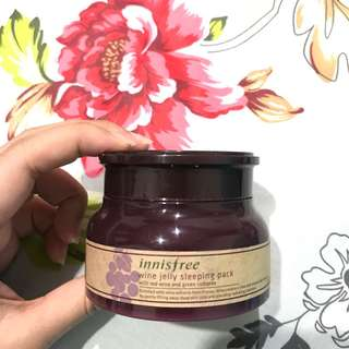 Innisfree Wine Jelly Sleeping Mask