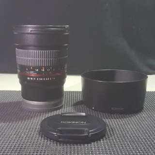 ROKINON 85mm f1.4 for SONY E-MOUNT
