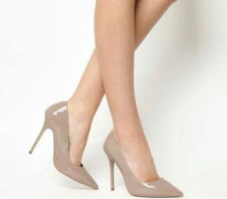 Sepatu High Heels Wanita Nude