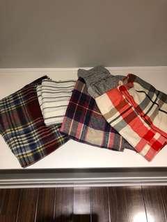 BUNDLE five scarves for $10