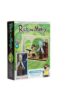 PO: McFarlane Toys Evil Rick and Morty Small Construction Set Toy-Interlocking-Building
