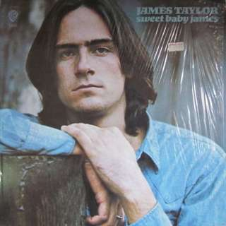 LP James Taylor Record Vinyl Album - Sweet Baby James