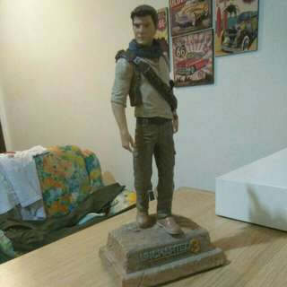 uncharted drake deception statue colllector edition ps3
