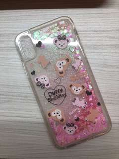 Duffy & ShellieMay IPhone X flowing glitter cover
