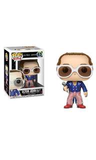 PO: Funko Pop Rocks: Elton John in Red, White & Blue