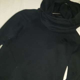 Nike Rally Turtle Neck Black Hoodie