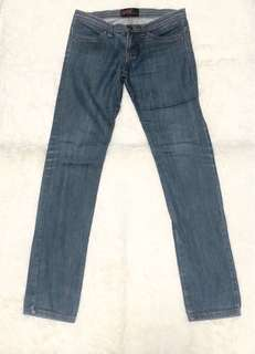 Straight Denim Jeans in Blue (S)