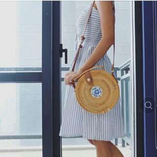 Imported Trendy  Rattan Bag