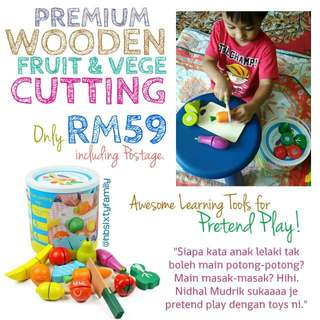 Premium Wooden fruit and vegetable cutting