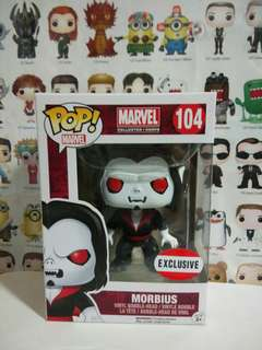 Funko Pop Morbius MCC Exclusive Vinyl Figure Collectible Toy Gift Marvel Collector Corps
