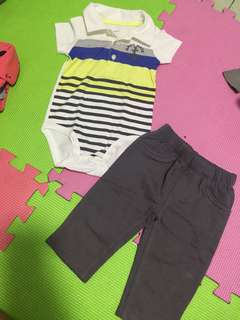Carter's pants set