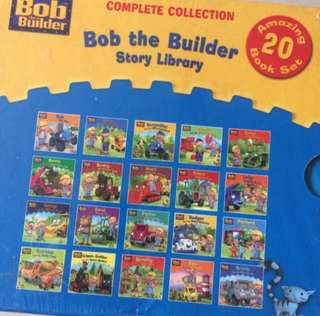 20 books Bob The Builder Story Library Compete Collection