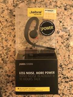 Jabra storm bluetooth headset全新