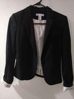 H&M Black Blazer (size:2)