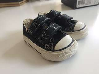 All star baby shoe