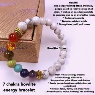 mothers day gift! 7chakra energy bracelet