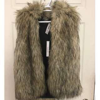 Aritzia Fur Coat