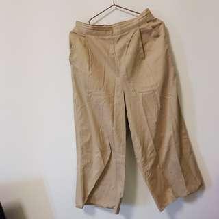 日牌chocol 寬褲