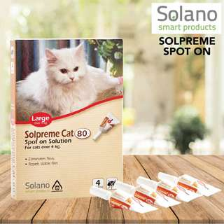 Solano Solpreme Spot-in for Cats over 4kg $55