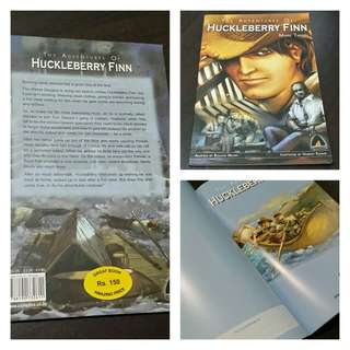 Huckleberry Finn comic book