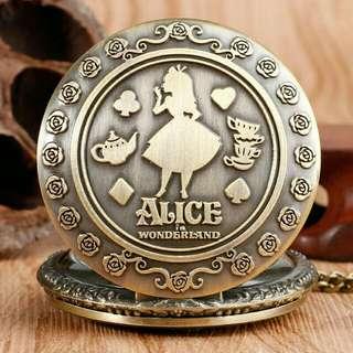 Pocket Watch w/ necklace chain