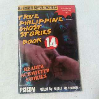 Philippine ghost story book
