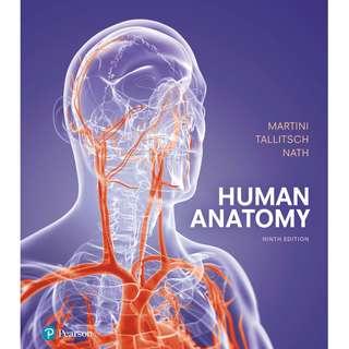 Human Anatomy 9th Ninth Edition by Frederic H. Martini, Robert B. Tallitsch, Judi L. Nath - Pearson