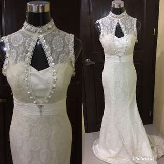 9pcs Wedding gowns for take all!