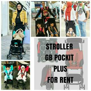 GB Pockit Plus Stroller For RENT
