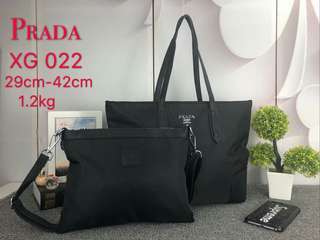 2 in 1 Prada Tote and Clutch (FREE POSTAGE)