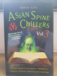 Asian Spine Chillers Vol.3 by Andrew Lee (Fiction / Horror)