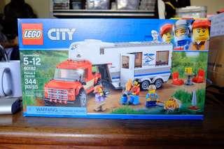 Lego City 60182 Pickup and Caravan Set