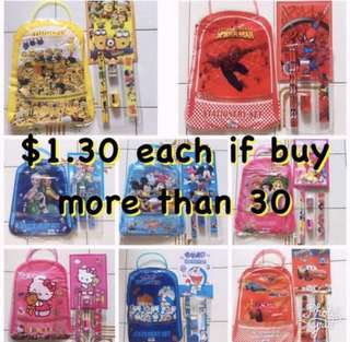 Children Goodie Bag / Children's Day/ Bday Birthday Gift / Stationery Set