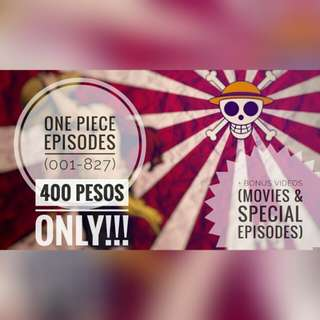 COMPLETE ONE PIECE EPISODES (001-827)