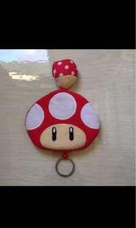 Key Chain / Mushroom design Key Holder (gift / present )