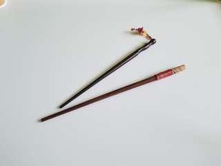 Chopstick bun