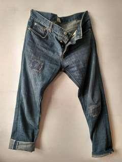 Celana jeans pria PMP Denim