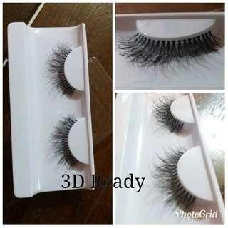 Bulu mata 3D eyelash fake human hair