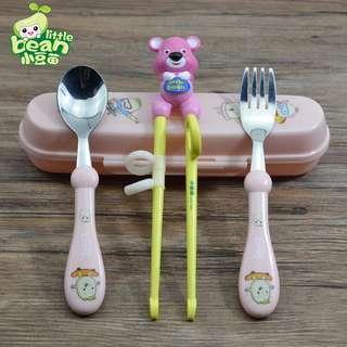 小豆苗 兒童學習餐具