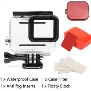 Gopro Hero 5 6 Waterproof Case Bundle Set 45m