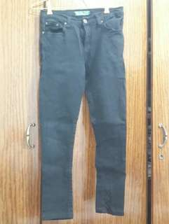 Point one jeans size 29 - 30 (xl) hitam banget