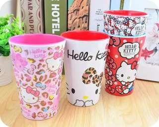 {現貨}Hello kitty 漱口杯 水杯 洗漱杯 牙刷杯(中號350ml)